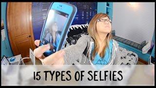 fifteen Different Selfies!