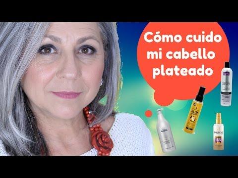 CÓMO CUIDO MI CABELLO PLATEADO  //  Makeupmasde40