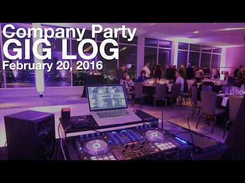Company Party | Gig Log #24 - February 20, 2016