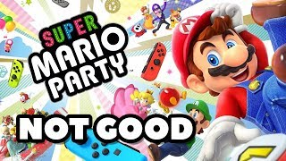 I Don't Like Super Mario Party (REVIEW)