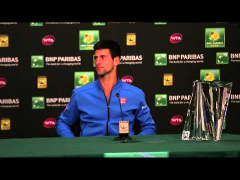 Novak Djokovic Champion Press Conference
