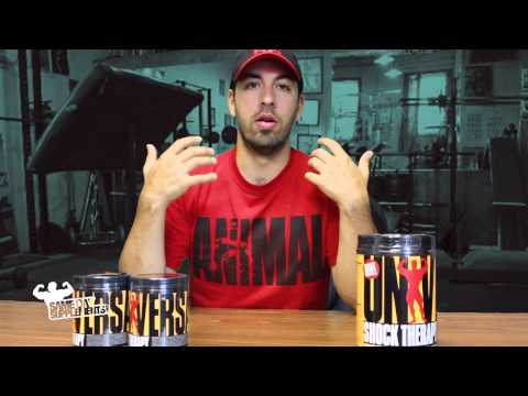 Universal Shock Therapy Review Pre-Workout