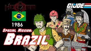 HCC788 - 1986 SPECIAL MISSION: BRAZIL - Vintage G.I. Joe toy review!