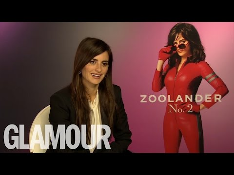 GLAMOUR interviews Penelope Cruz for Zoolander 2