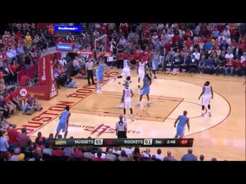 Danilo Gallinari flies at the Toyota Center (28.10.2015, Nuggets @ Rockets)