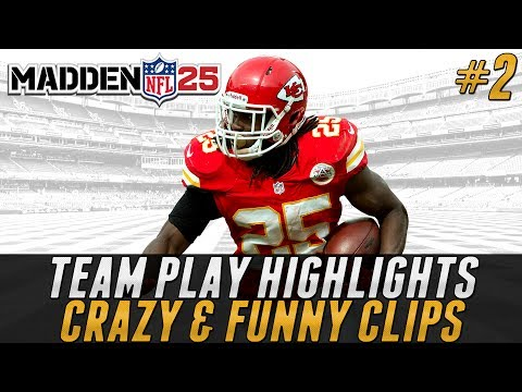 Madden 25 Team Play Highlights #2 - Crazy and Funny Clips!