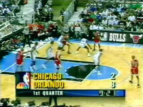 Chicago Bulls @ Orlando Magic | 1996 Playoffs | ECF Game 4: Jordan seals the sweep