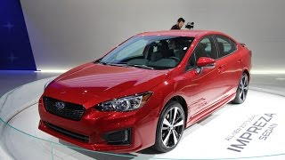 2017 Subaru Impreza First Look - 2016 New York Auto Show