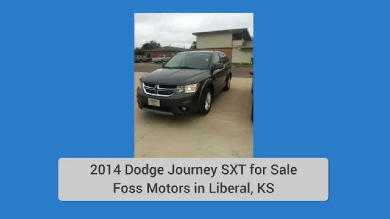 2014 dodge journey sxt for sale in liberal ks youtube. Black Bedroom Furniture Sets. Home Design Ideas