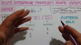 8 DK DA KISMİ İNTEGRAL MUHTEŞEM YÖNTEM( very practical method of partial integration)
