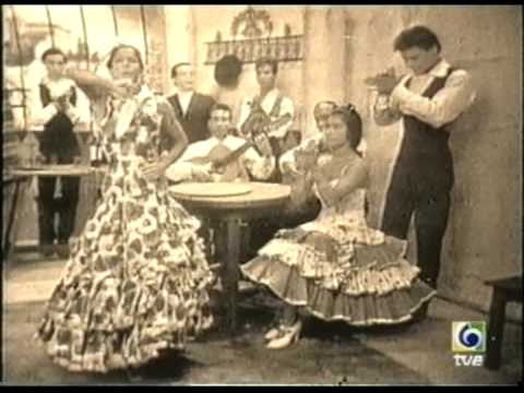 Carmen Amaya y su troupe por Bulerias - 1961