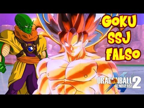 DRAGON BALL XENOVERSE 2 : GOKU SUPER SAIYAJIN FALSO VS SLUG ! Y GOHAN SSJ 3 | RAFYTA