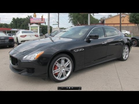 2014 Maserati Quattroporte GTS Start Up. Exhaust. and In Depth Review