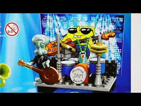 SpongeBob Rock Band Figure Pack / Koncert Rockowy - Spongebob Squarepants - Mega Bloks - DBH82