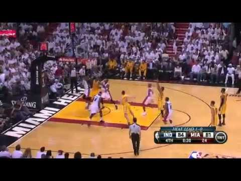 Indiana Pacers Vs Miami Heat - NBA Eastern Conference Finals 2013 Game 2 - Full Highlights 5/24/13