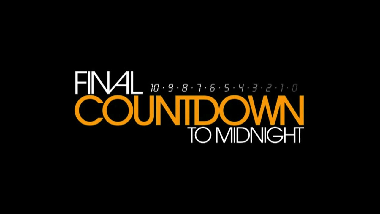 Countdown New Years Eve