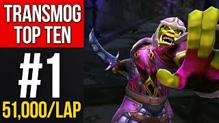 TRANSMOG TOP TEN - I Can't Save Him! (51,000g/lap)