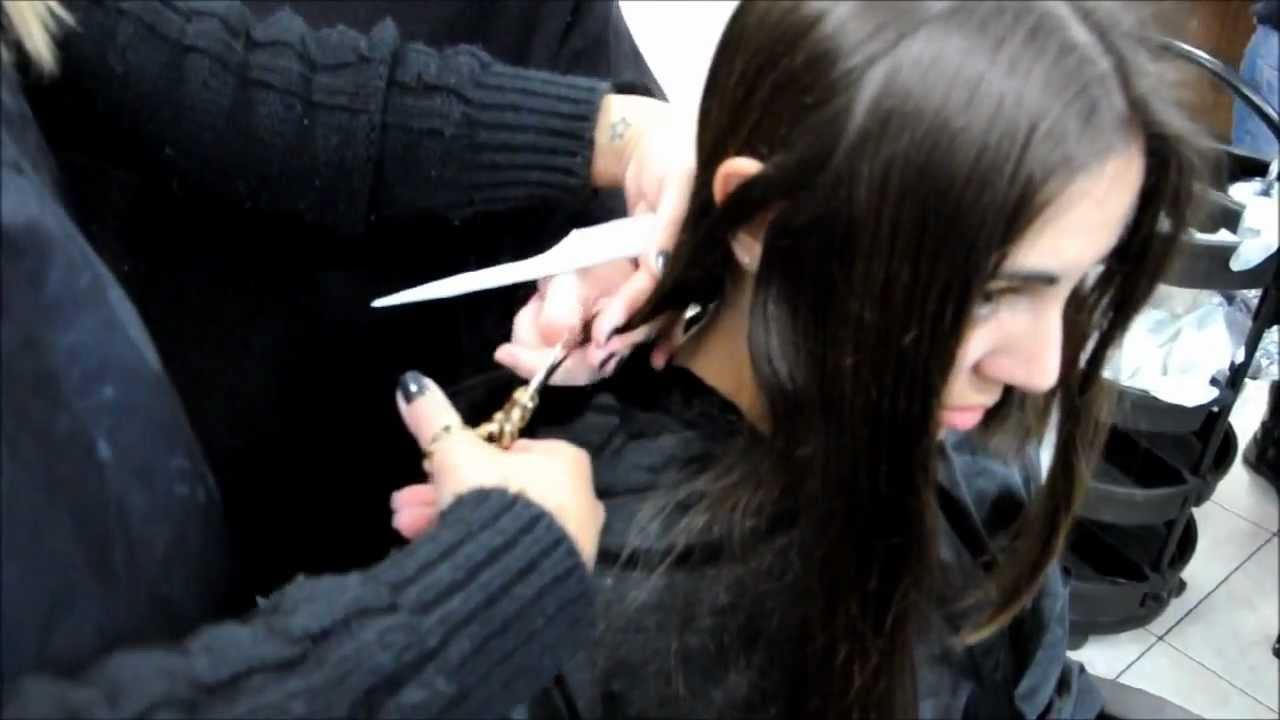 Hair All Cut Off Into A Short Bob Haircuti Get Likes And Next Clip ...