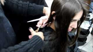 Hair All Cut Off Into A Short Bob Haircut(i Get Likes And Next Clip