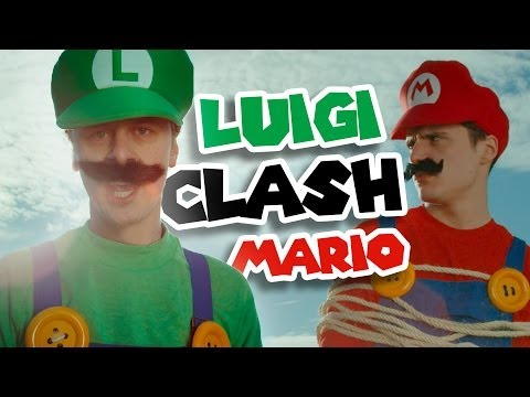 NORMAN - LUIGI CLASH MARIO Music Videos