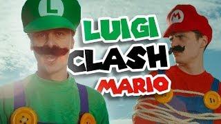 NORMAN - LUIGI CLASH MARIO