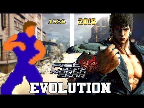HOKUTO NO KEN (FIST OF THE NORTH STAR) GAMES - EVOLUTION (1986 - 2018) - EVOLUCIÓN HD