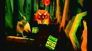 Crash Bandicoot 3: Warped - Level 11: Dino Might (Double Gem Get)