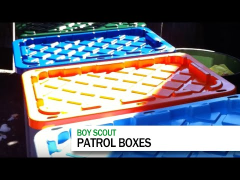 ScoutmasterDave #006: Patrol Boxes