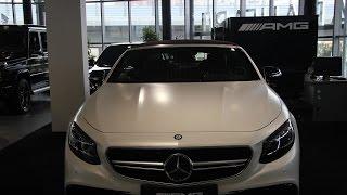 Mercedes-Benz S-klasse AMG с пробегом 2016 | ООО АВАНГАРД ОФИЦИАЛЬНЫЙ ДИЛЕР «МЕRCEDES-BENZ»
