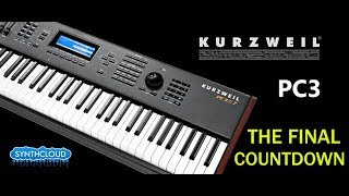 Kurzweil PC3 - The Final Countdown cover by Synthcloud