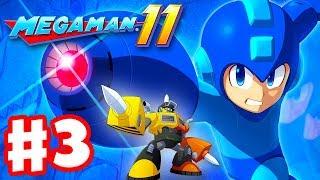Mega Man 11 - Gameplay Walkthrough Part 3 - Impact Man Stage! (PC)
