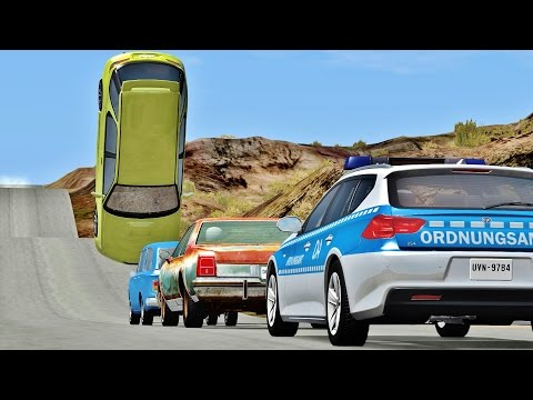 BeamNG Drive INSANE CRASHES #70