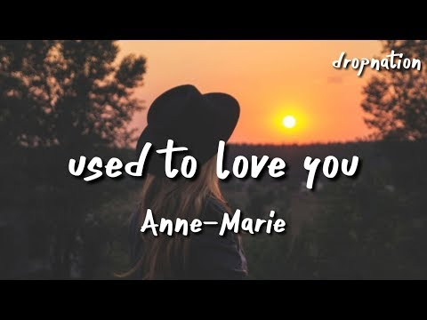 Anne-Marie - Used To Love You (Lyrics)
