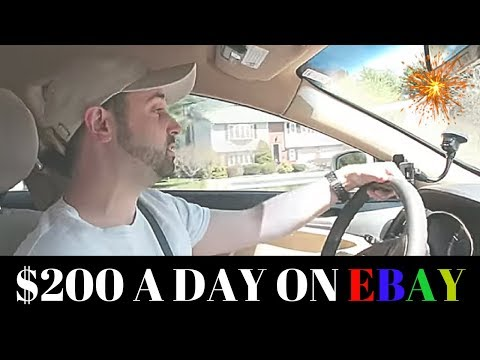 How to Make 200 a Day on Ebay