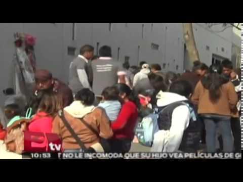 Llegan peregrinos de Atlacomulco a la Basílica de Guadalupe / Excélsior informa