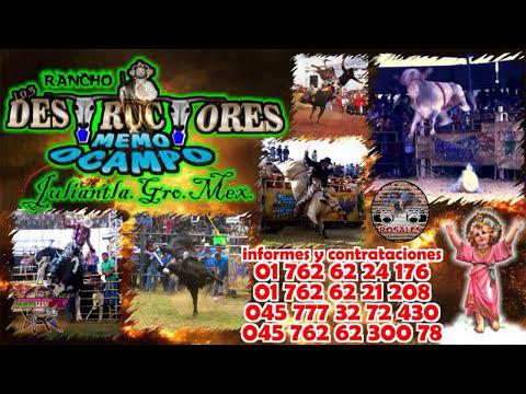 ¡¡NUEVA!! Presentación De Rancho Los Destructores De Memo Ocampo.