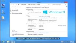 Activate Windows 8 With KJ ACTIVATOR