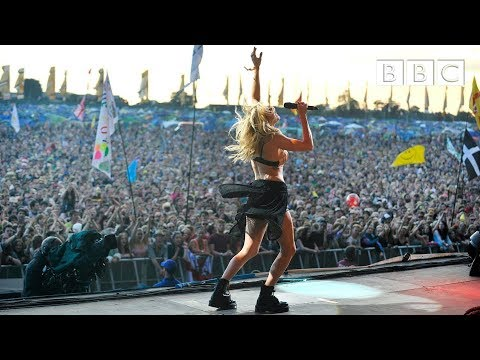 Ellie Goulding - Burn at Glastonbury 2014