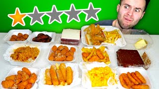 Eating At The WORST Reviewed Restaurant in my Area! - FOOD REVIEW!