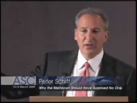 Peter Schiff Lecture, Financial Bubbles Explained (1/8) (ECONOMICS LECTURES)