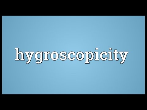 Header of hygroscopicity