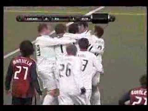 Chicago Fire Goal by Cuauhtemoc Blanco 3-29-08 Video