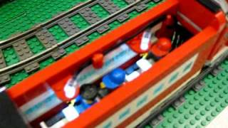 LEGO Power Functions High Speed Train with automatic doors 2