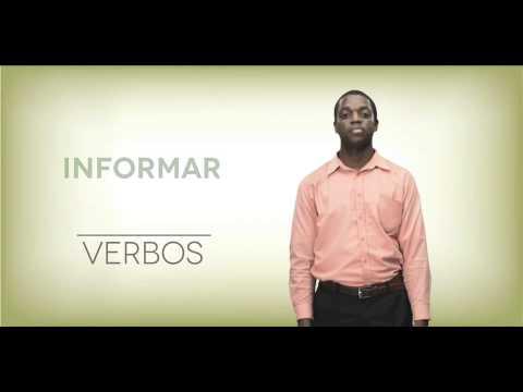 Videodiccionario de Lengua de Señas 4to. Tomo - Módulo Verbos