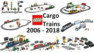 All Lego Cargo Trains 2006 - 2018 - Lego Speed Build Review