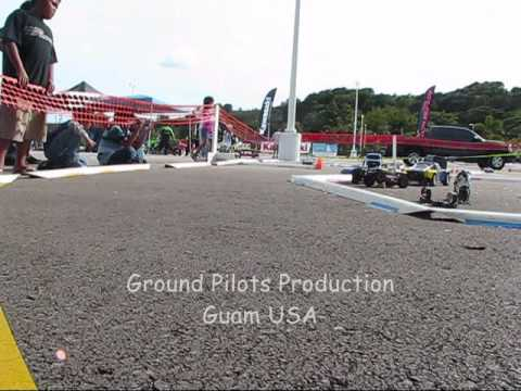RC Guam Salavation Army Toy Drive drift part 1
