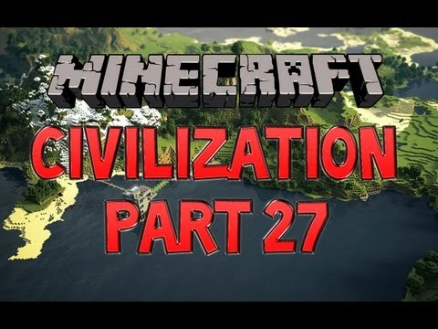 Minecraft Civilization w/ Crunchy & MiniCrunchy Pt. 27 - Tanning Room!