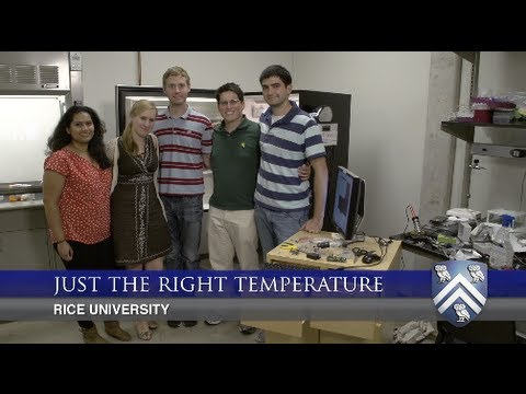 Rice students modify a refrigerator that will keep vaccines at a constant temperature