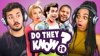 DO TEENS KNOW 90s COMEDY MOVIES? (REACT: Do They Know It?)