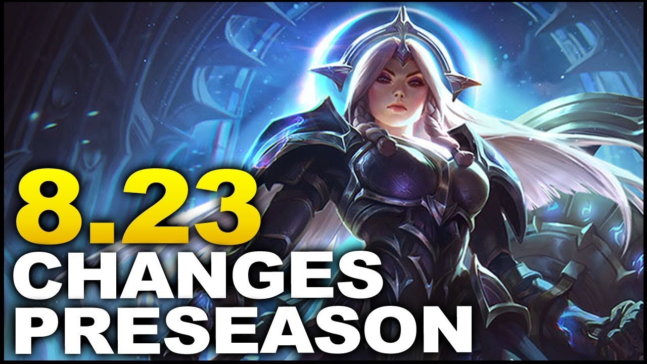 Big new Preseason changes coming in Patch 8.23